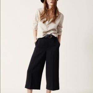 Madewell Stockton Cullote Crop Pants sz 2